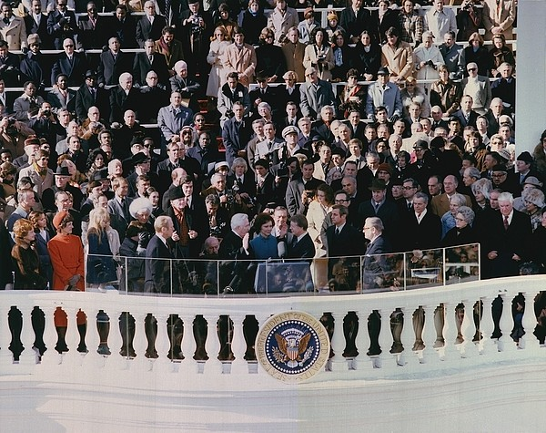 Jimmy Carters 1976 Inauguration Print by Everett