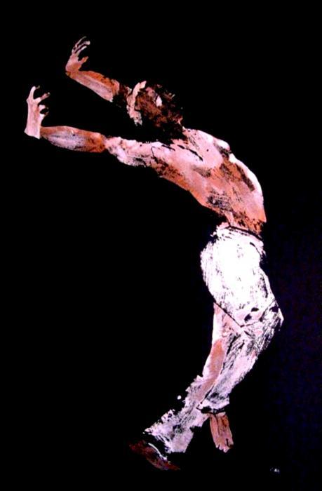 Jive Dancer Print by Ana Bikic