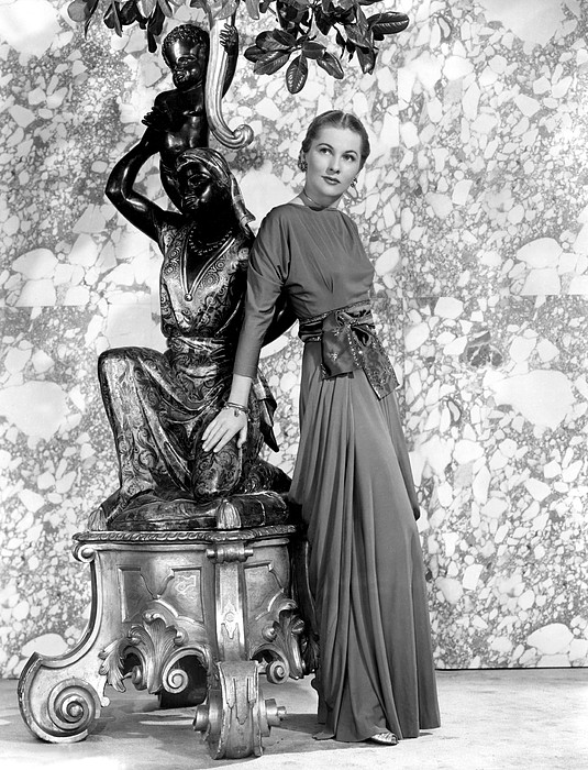Joan Fontaine Print by Everett