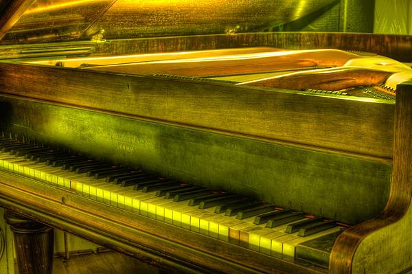 John Broadwood And Sons Piano Print by Semmick Photo