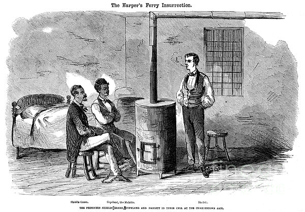 John Brown Raid, 1859 Print by Granger