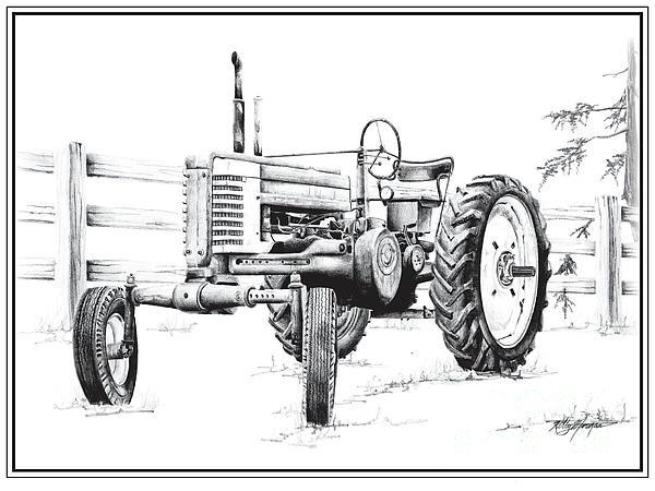 john deere tractor by kelly morgan
