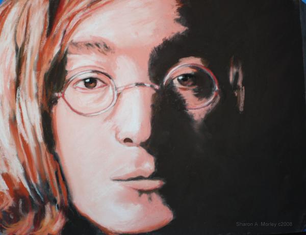 John Lennon  Imagine Print by Sharon Morley  APS