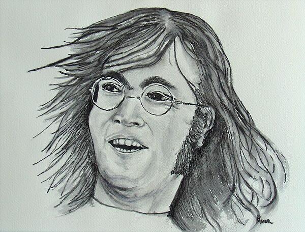 John Lennon Print by Pete Maier