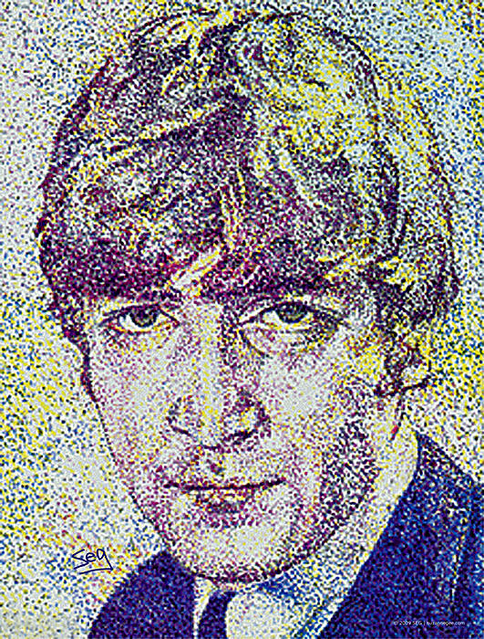 John Lennon Print by Suzanne Gee