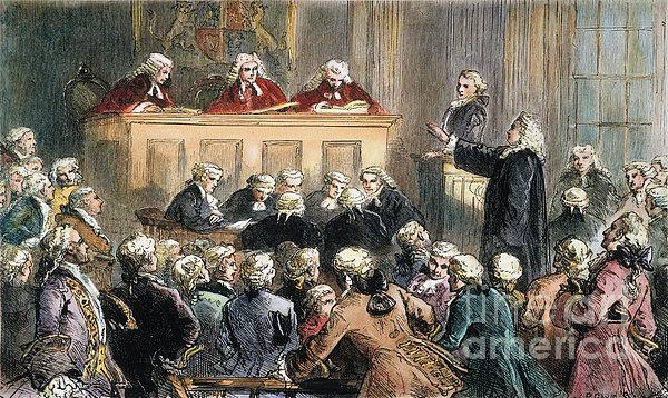 John Peter Zenger Trial Print by Granger