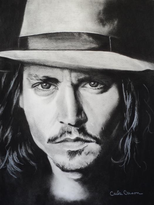 Carla Carson - Johnny Depp