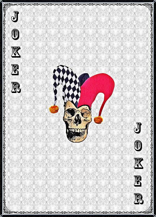 Joker Print by Bill Cannon