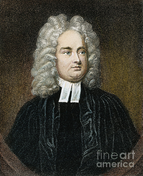 Jonathan Swift (1667-1745) Print by Granger