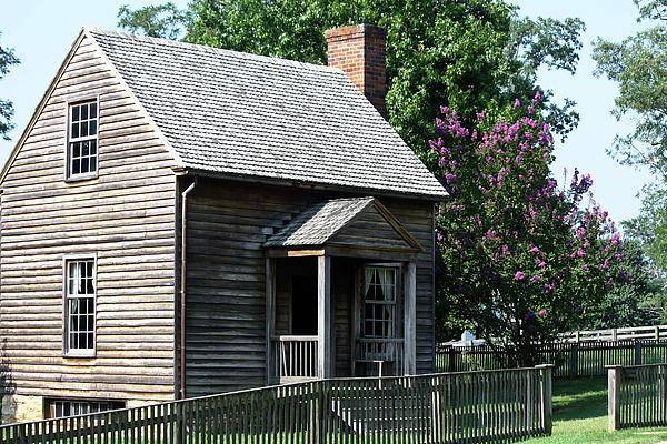 Jones Law Office Appomattox Court House Virginia Print by Teresa Mucha