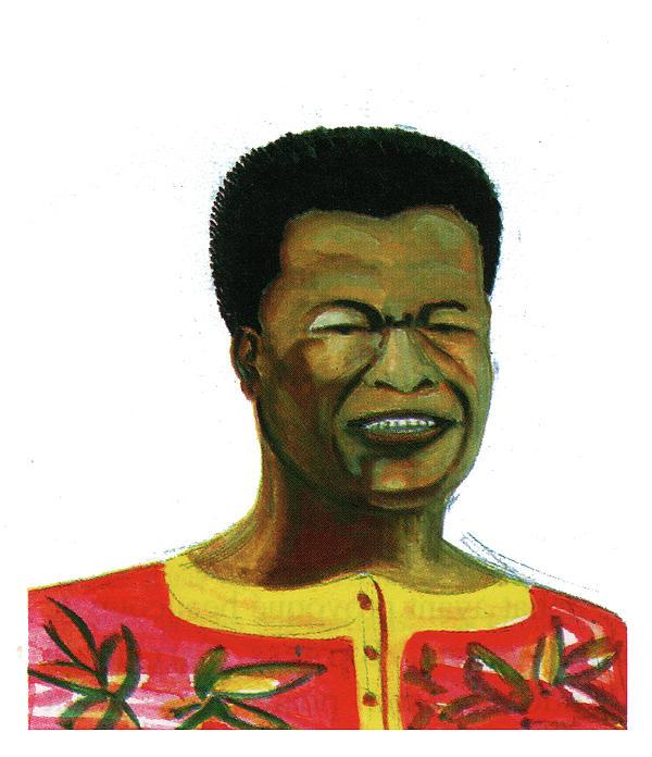 Jose Belo Chipenda Print by Emmanuel Baliyanga
