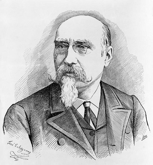 Jose Echegaray 1832-1916 Spanish Print by Everett