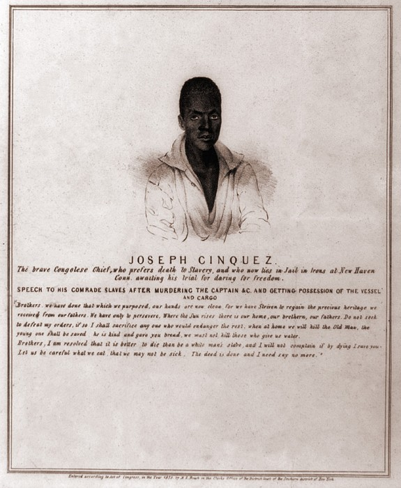 Joseph Cinquez, Lead Fifty-four African Print by Everett
