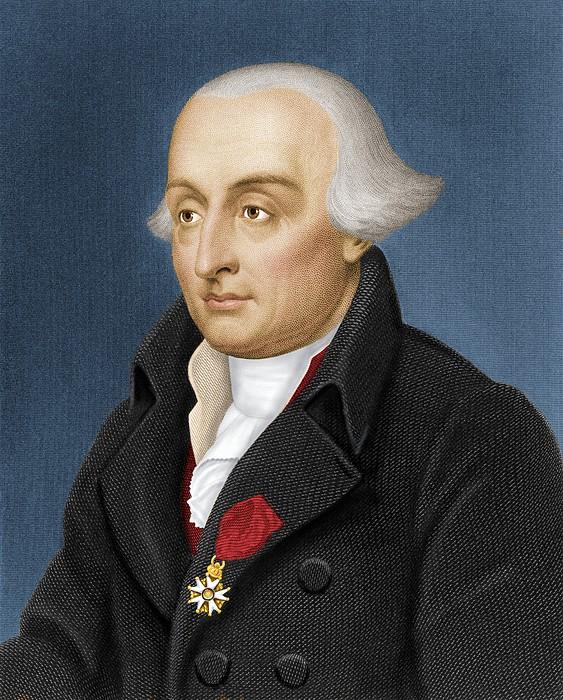 Joseph Lagrange, French Mathematician Print by Maria Platt-evans