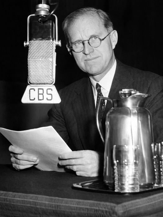Joseph P. Kennedy Endorses Franklin Print by Everett