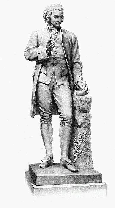 Joseph Priestley (1733-1804) Print by Granger