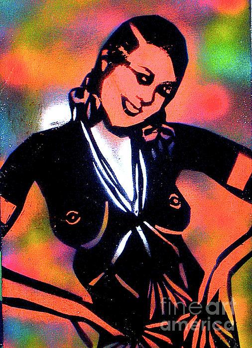 Josephine Baker Print by Tony B Conscious