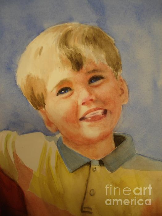 Joshua's Brother Print by Marilyn Jacobson