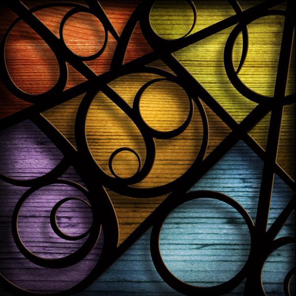 Joy-joy-joy-abstract Print by Shevon Johnson