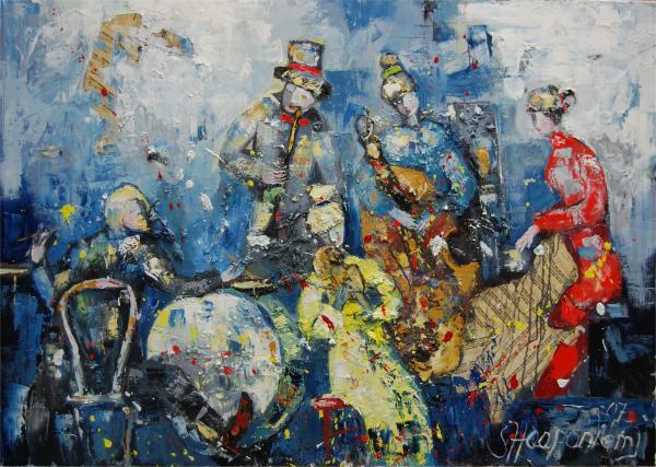 Joyful Melody Print by Sari Haapaniemi