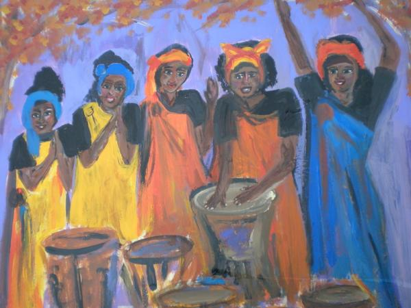 JOYFUL NOISE Painting by Beth Sebring - JOYFUL NOISE Fine Art ...