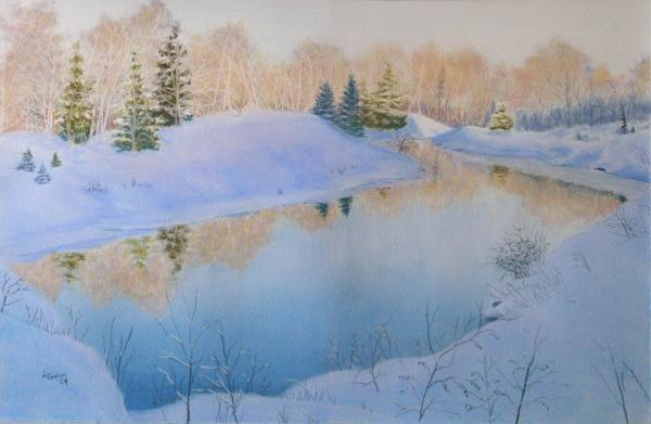 Junction Creek Print by Lynn Quinn