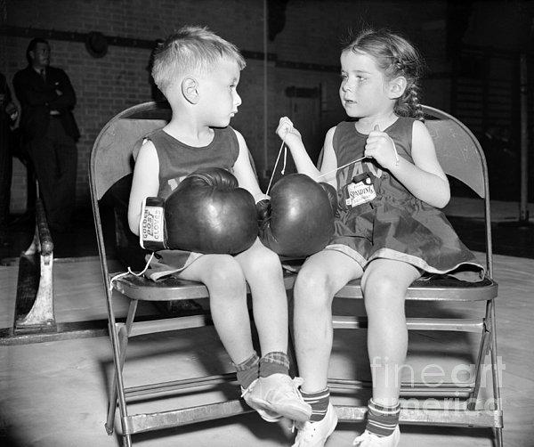 Junior Boxer, 1939 Print by Granger
