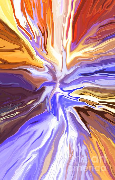 Just Abstract V Print by Chris Butler