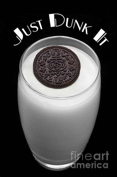 Just Dunk It Print by Andee Design