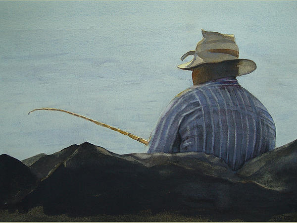 Sarah Buell Dowling - Just Fishing