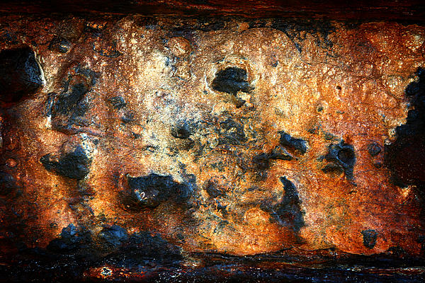 Just Rust Print by Shane Rees
