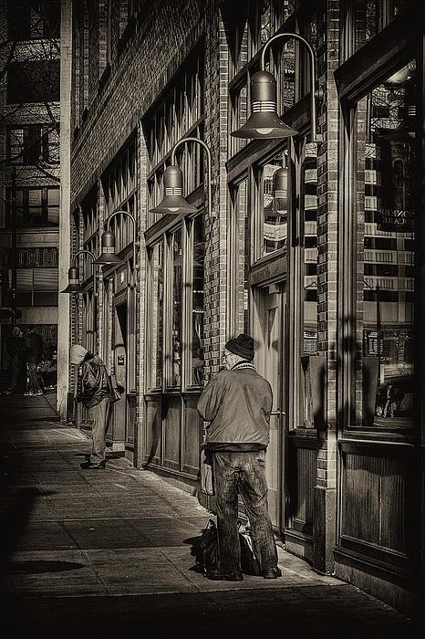 Just Waiting Print by David Patterson