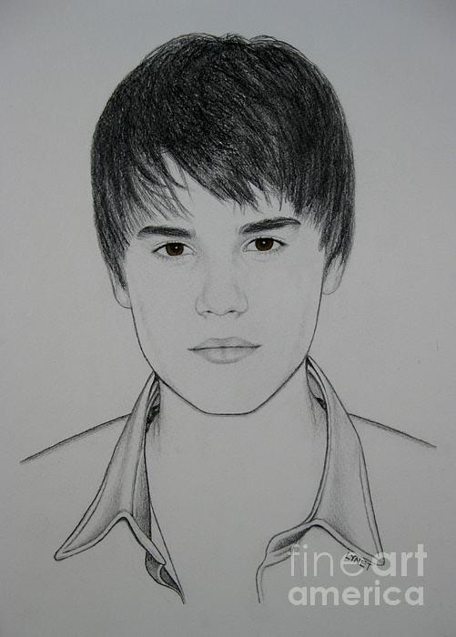 Justin Print by Lynet McDonald