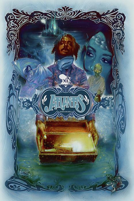 K-os Atlantis Hymns For Disco Print by Nelson Garcia