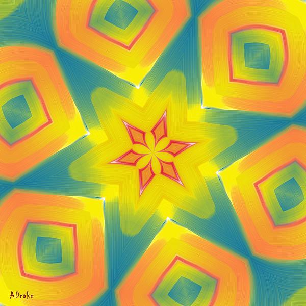 Kaleidoscope Series Number 8 Print by Alec Drake