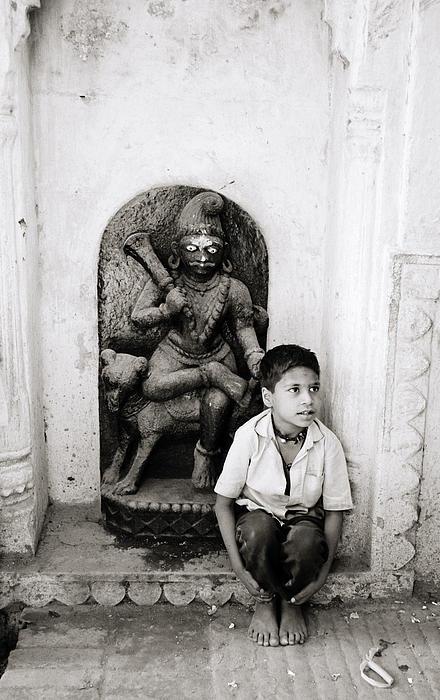 Kali In Benares Print by Shaun Higson