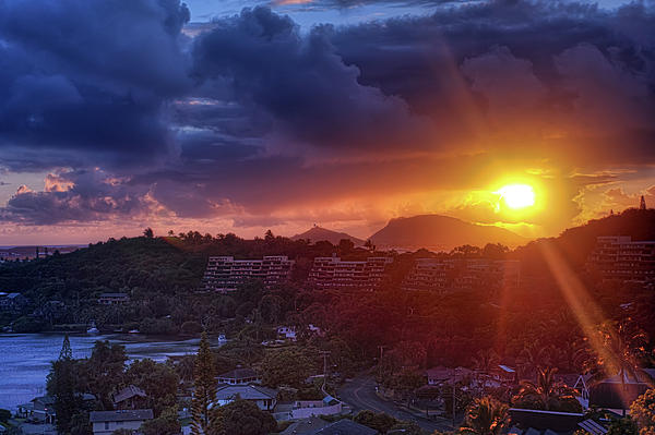 Kaneohe Sunrise Print by Dan McManus