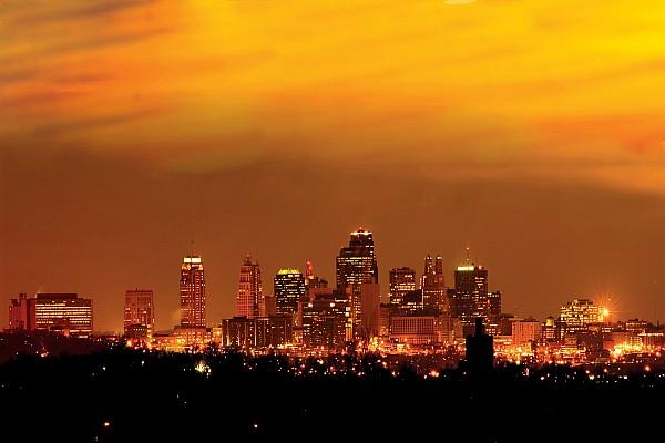 Kansas City Missouri Skyline Print by Don Wolf