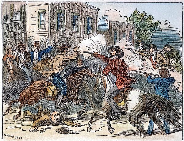 Kansas-nebraska Act, 1856 Print by Granger