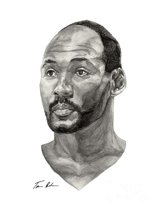 Karl Malone Print by Tamir Barkan