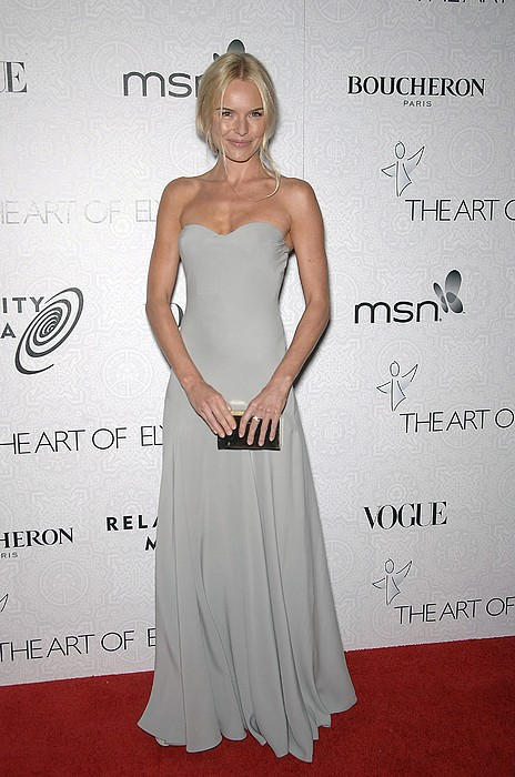 Kate Bosworth Wearing An Alexander Print by Everett