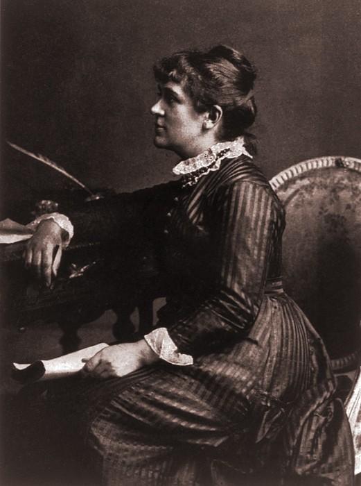 Kate Greenaway 1846-1901, A Leading Print by Everett