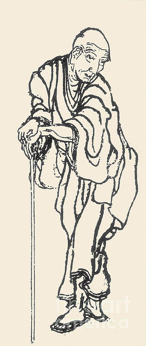 Katsushika Hokusai Print by Granger