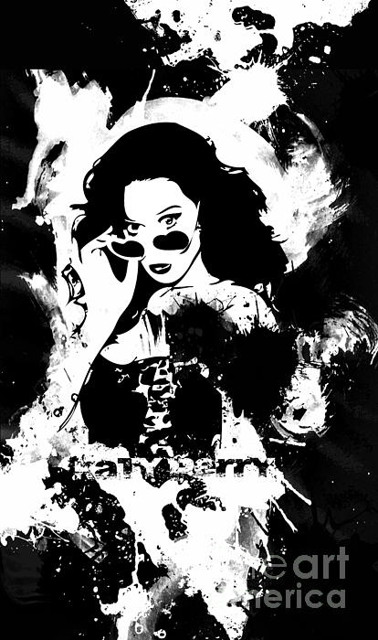 Katy Perry Print by The DigArtisT