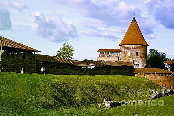 Kaunas Castle Print by Arvydas Kantautas