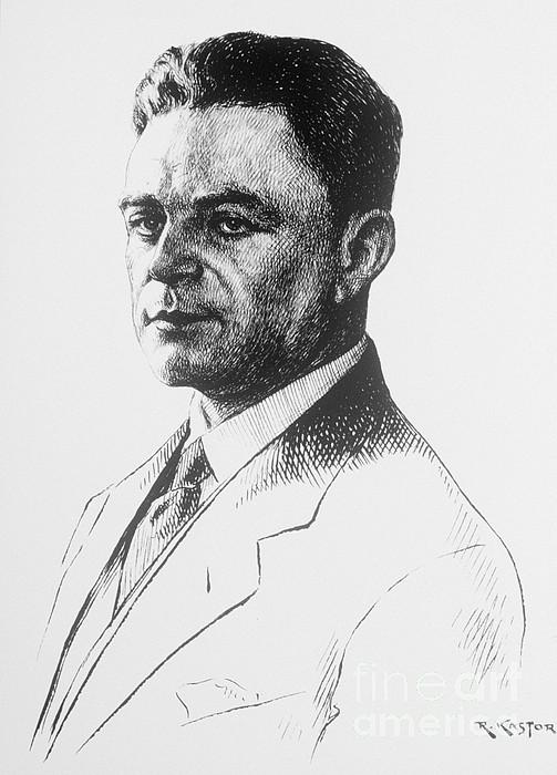 Kazimierz Funk, Polish-american Print by Science Source