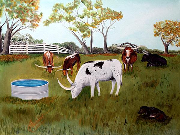 Carolyn Ardolino - Keeper of the Cows