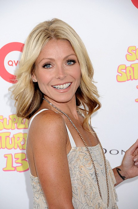 Kelly Ripa In Attendance For Super Print by Everett