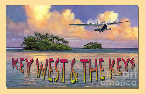 Key West Air Force Print by David  Van Hulst
