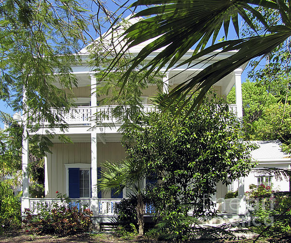 Key West House Photograph